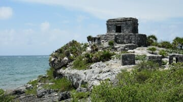 photo, image, tulum, mexico, ruins
