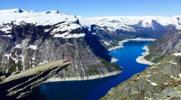 photo, image, trolltunga, tyssedal, norway