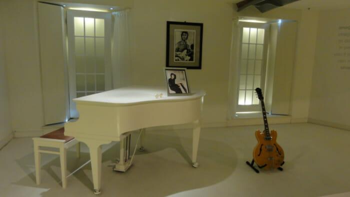 John Lennon's piano.