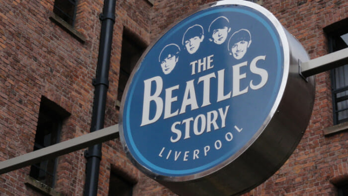 The Beatle Story is a private mueum down by the water