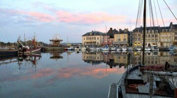 photo, image, honfleur, france