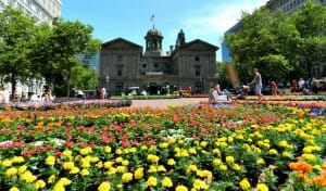 photo, image, portland, pioneer courthouse