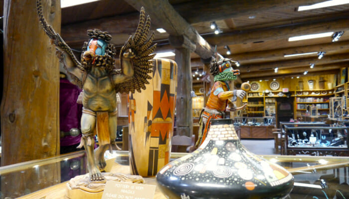 Just north of Sedona is Garland's Indian Jewelry where they also sell Hopi Kachinas. The staff seemed quite knowledgable.