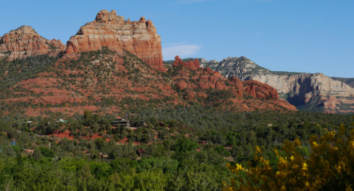 View from Marg's Draw Trail 64, Sedona.
