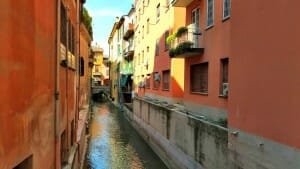 photo, image, canal, bologna
