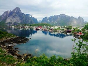 photo, image, reine, norway
