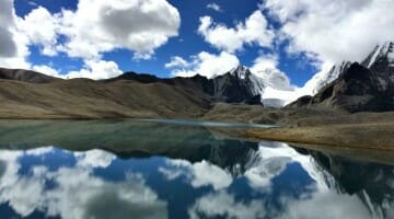photo, image, gurudongmar lake, india