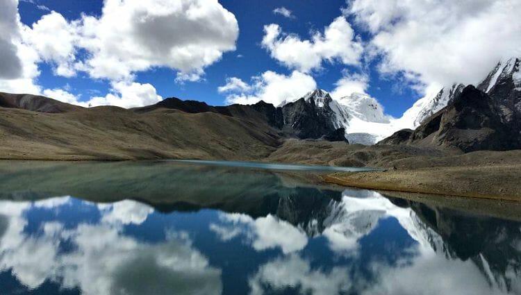 photo, image, gurudongmar lake, india