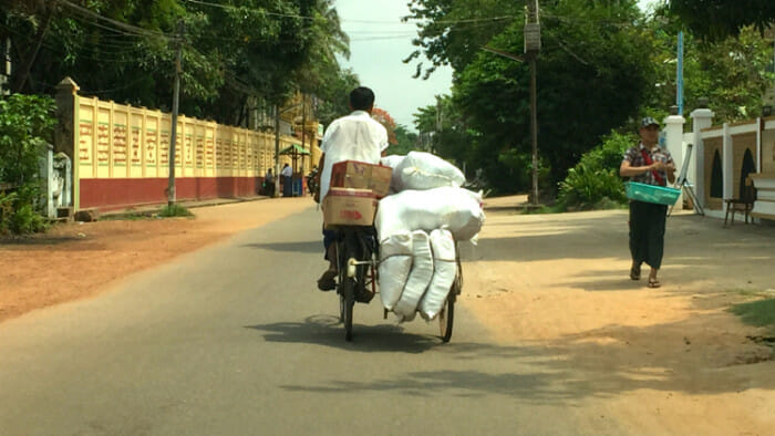 transportation Bago