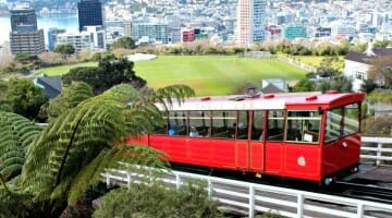 photo, image, cable car, wellington, new zealand