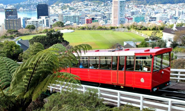 photo, image, cable car, wellington, new zealand