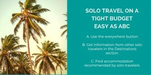 Solo Travel on a Tight Budget: Easy as ABC