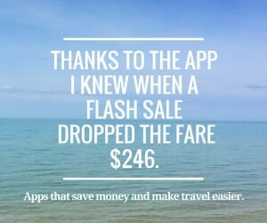 The fare I had been watching for a flight to Miami had dropped $246.-4