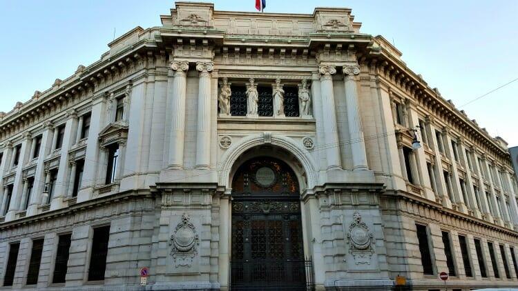 photo, image, banco d'italia, milan, lombardy