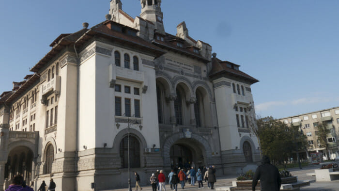 The Archeology Museum in Constanta.