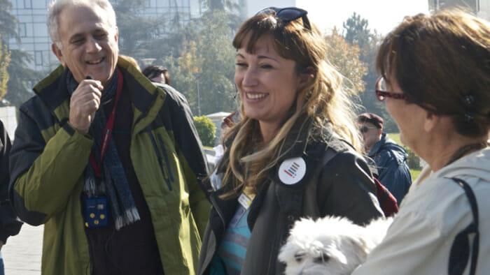 We met with Bojana's family in Belgrade.
