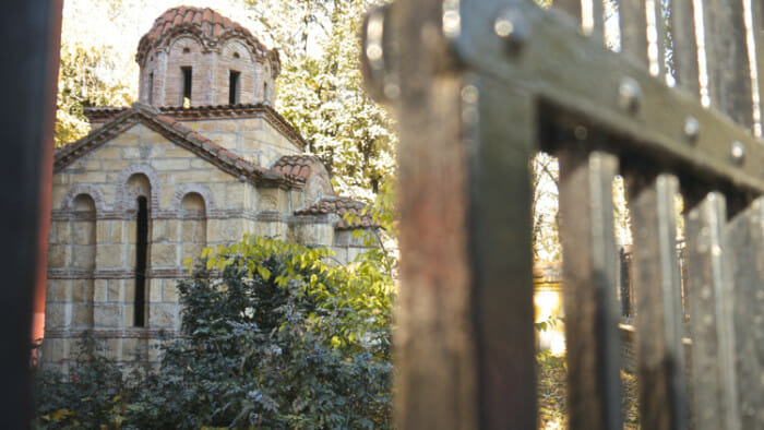 Chapel beside Orthodox Administrative building.