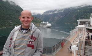 Gary Bembridge, author of The Cruise Traveler's Handbook.