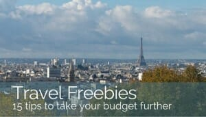 Solo Travel with Fabulous Travel Freebies