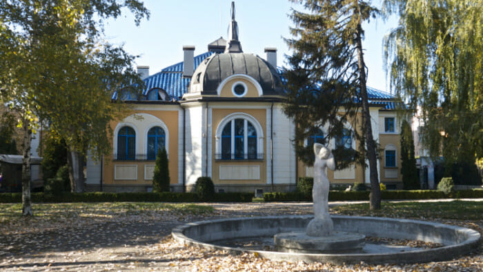 The Turkish bath in Ruse is a remnant of the Ottoman Empire's presence in the area.