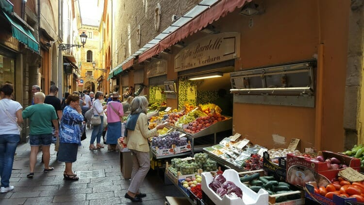 photo, image, vegetables, one hour tour of bologna