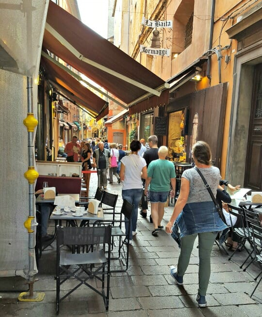 photo, image, street, one hour tour of bologna