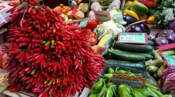 photo, image, peppers, bologna