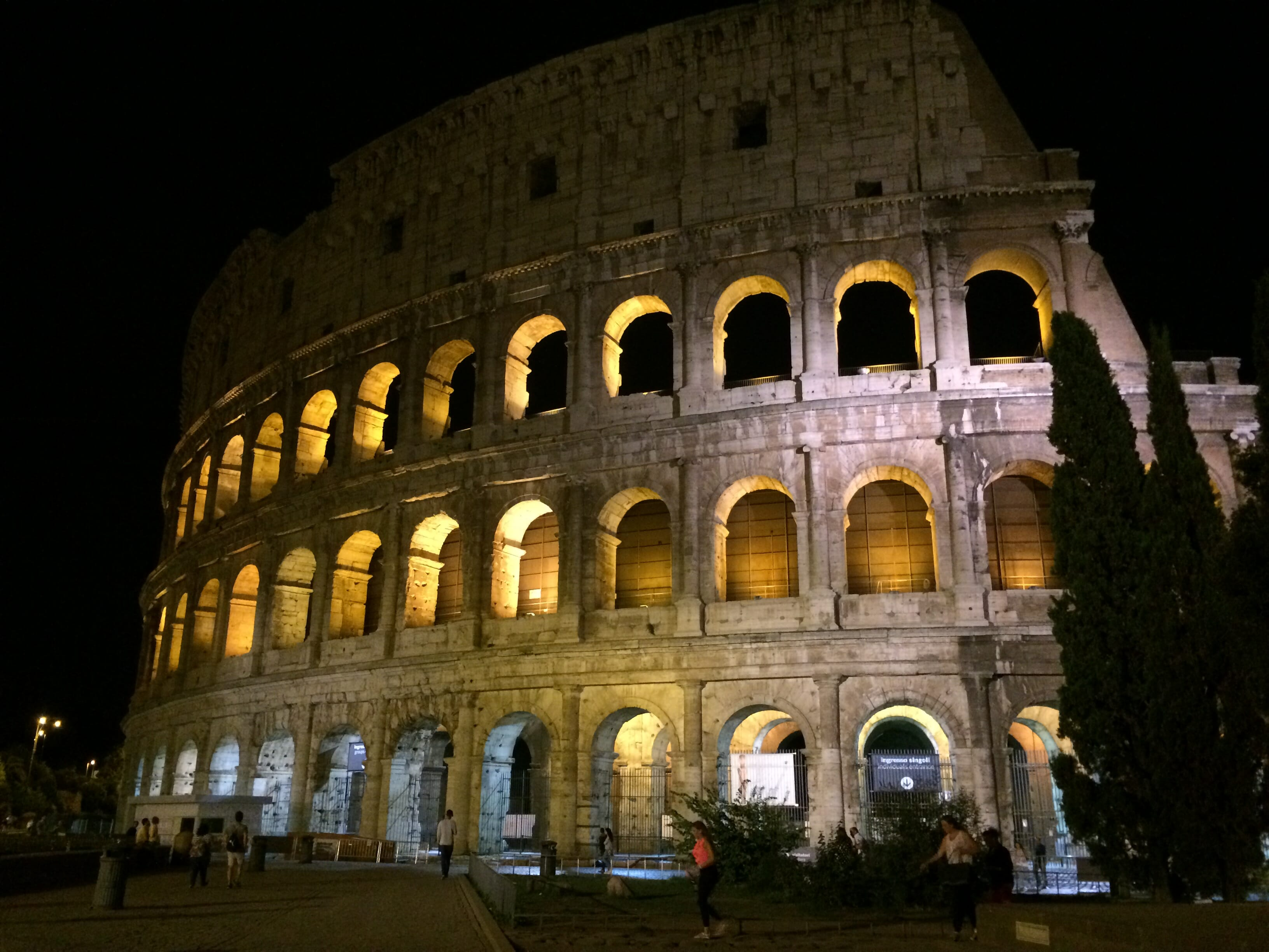 photo, image, colosseum, rome, solo time on a group tour
