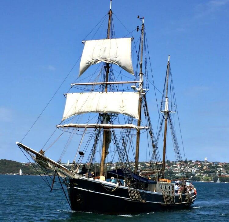 photo, image, sydney tall ship, australia