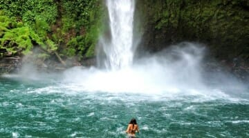 photo, image, la fortuna, waterfall, costa rica