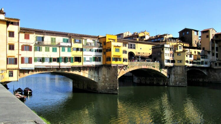 photo, image, Ponte Vecchio, florence, italy