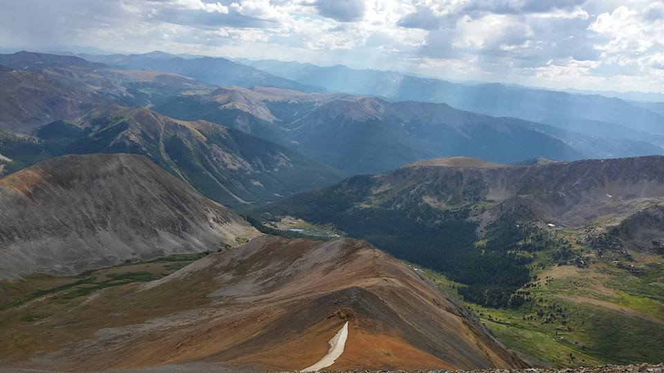 Vincent - Grays Peak, Colorado last year.