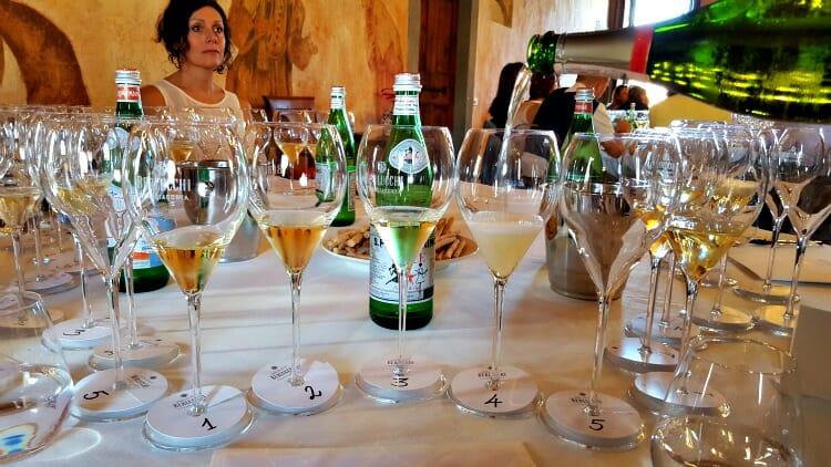 photo, image, wine tasting, berlucchi, franciacorta