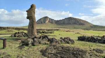 photo, image, statue, easter island, chile