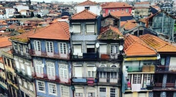 photo, image, houses, colorful porto, portugal