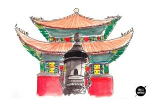 Solo Traveler Artist in Residence: Images of Beijing