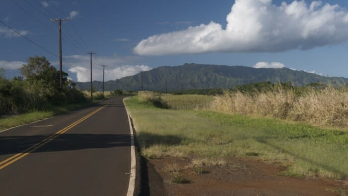 Driving Kauai is beautiful.