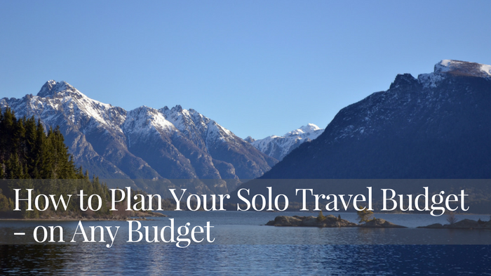 solo travel budget