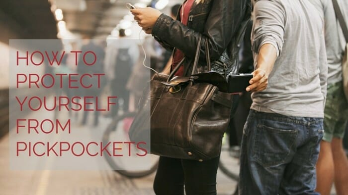 protect yourself from pickpockets
