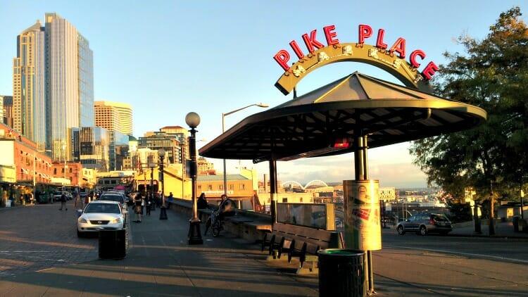 photo, image, pike place market, seattle, united states