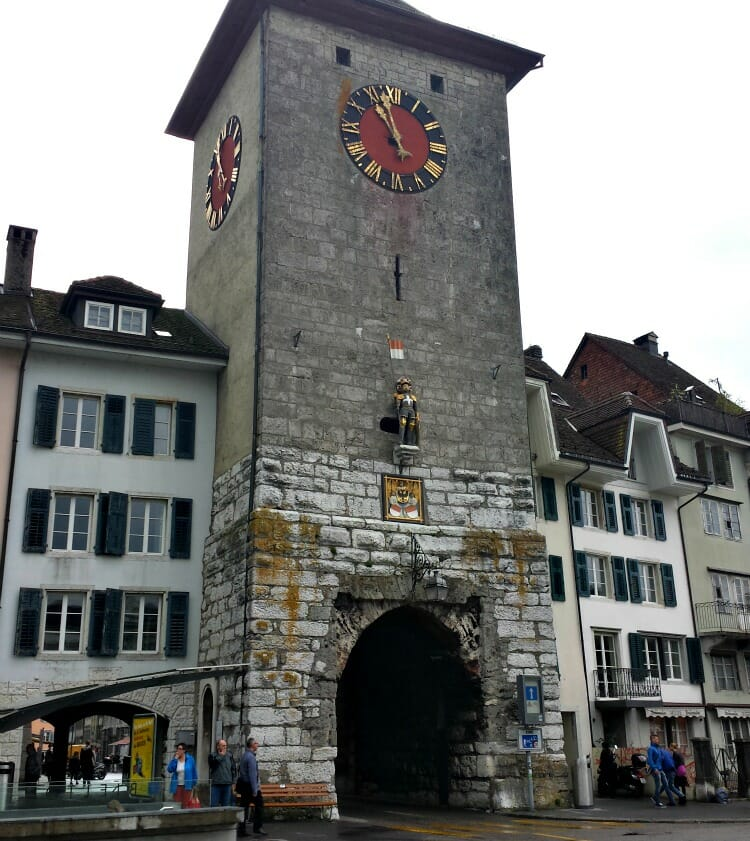 photo, image, solothurn, gate, switzerland