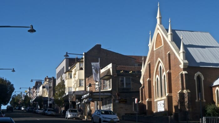 Katoomba is a small town that shows it's turn of the 20th century origins.