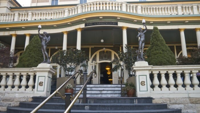 The Carrington Hotel in Katoomba.