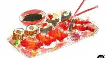 photo, image, sushi, images of tokyo