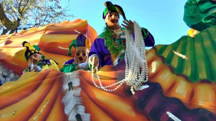 photo, image, float, solo at mardi gras, new orleans