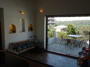 House Overlooking Bogmalo Beach