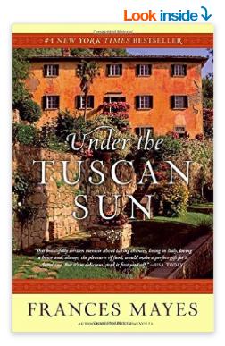 Under the Tuscan Sun is on Amazon.