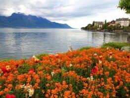 Montreux Lake Geneva, Switzerland