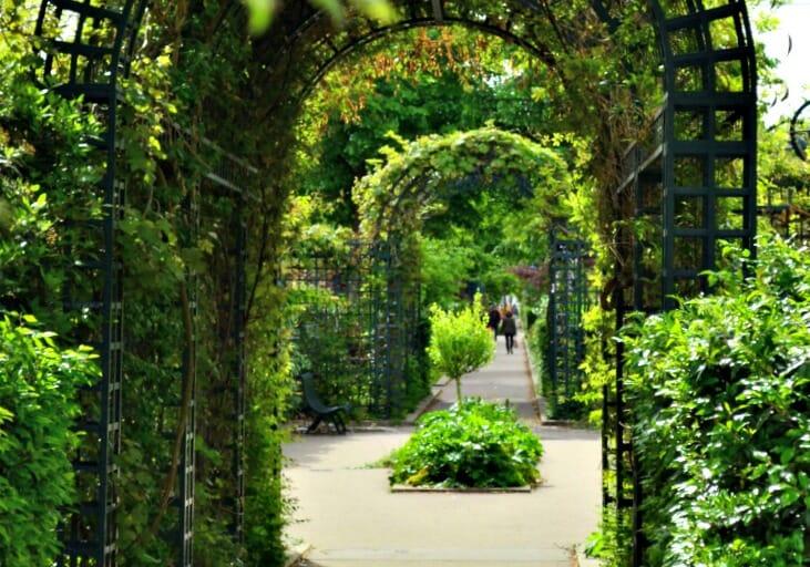 photo, image, garden, la coulee verte, paris, france