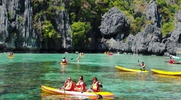 photo, image, kayaking, el nido, philippines
